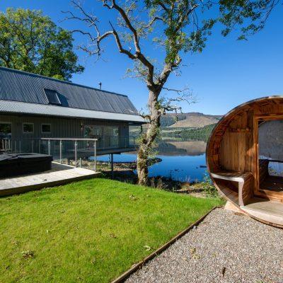 Hot Tub Lodges in Scotland